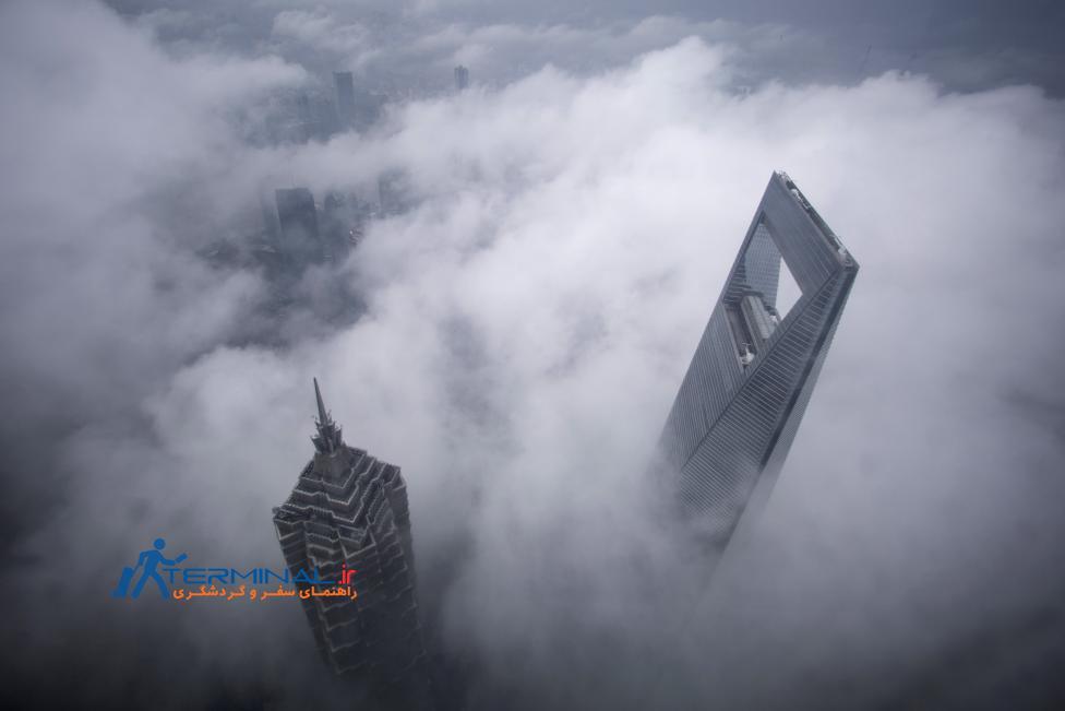 شهرها در احاطه ابرها