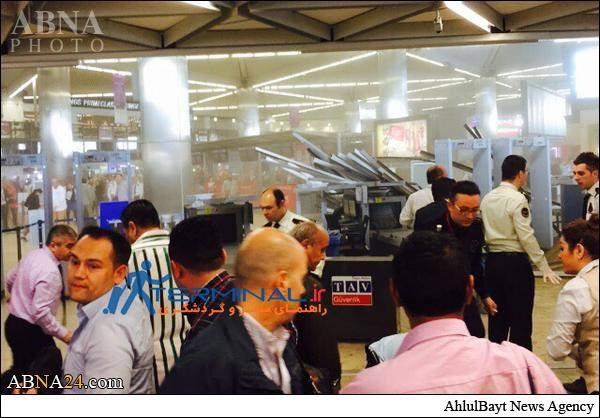 فرو ريختن سقف فرودگاه استانبول تركيه+عكس