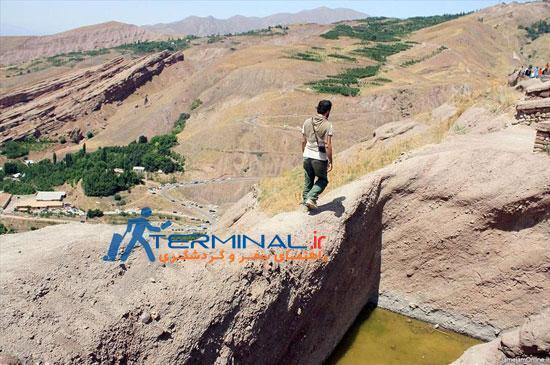 قلعه الموت یکی از قلعههای منحصر به فرد تاریخی در ایران
