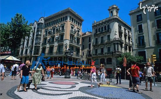 جاذبه های گردشگری بارسلون اسپانیا
