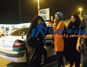 بازگشت ون های گشت ارشاد به خیابان های تهران