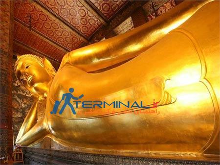معبد,دیدنیهای تایلند, معبد بودای خوابیده