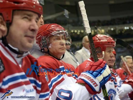 رئیس جمهور روسیه در لباسی که تاکنون ندیده اید + عکس