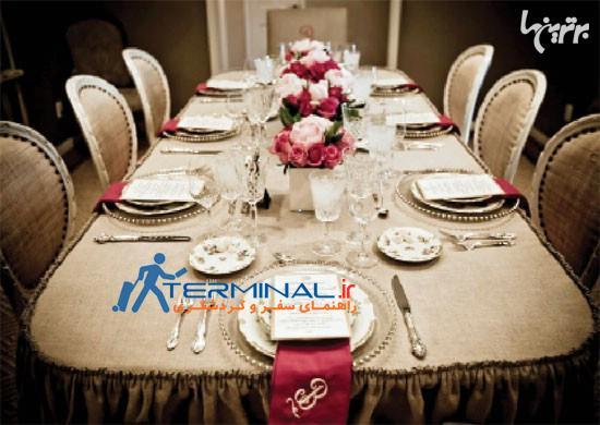 چطور یک میز غذاخوری حرفهای بچینیم؟