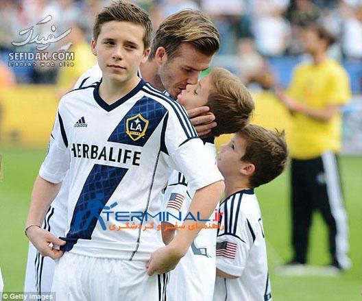 پسران فوتبالیست دیوید بکهام