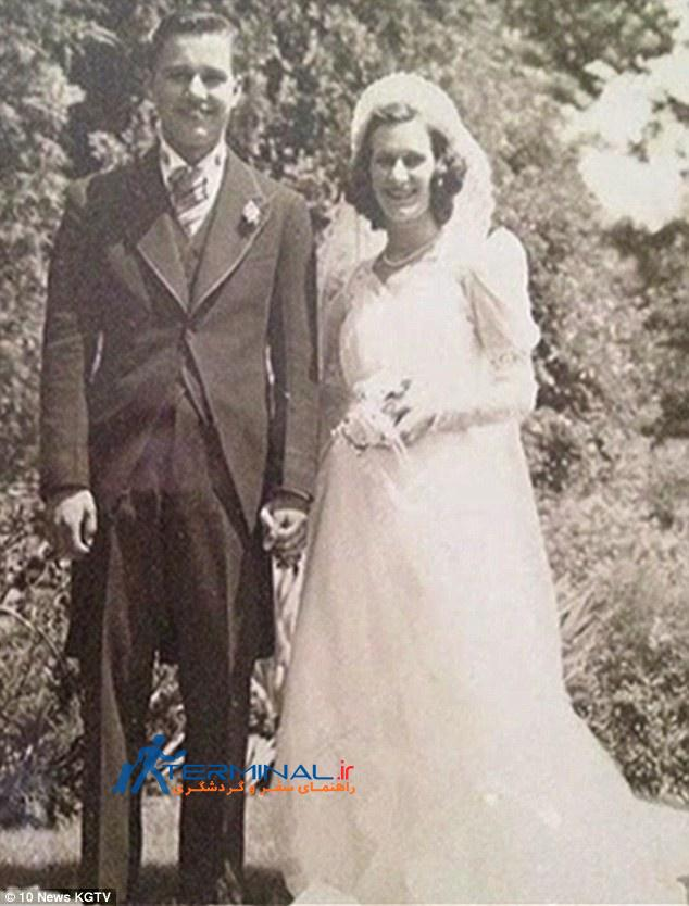 زن و شوهری که دست در دست هم جان سپردند