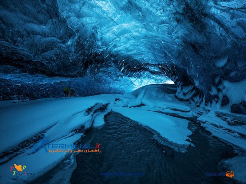 غار یخ های کریستالی ، ایسلند