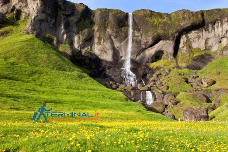 10 آبشار معروف ایسلند