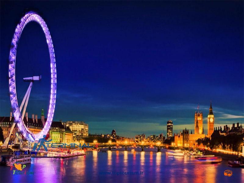 عکس چرخ و فلک برزگ لندن