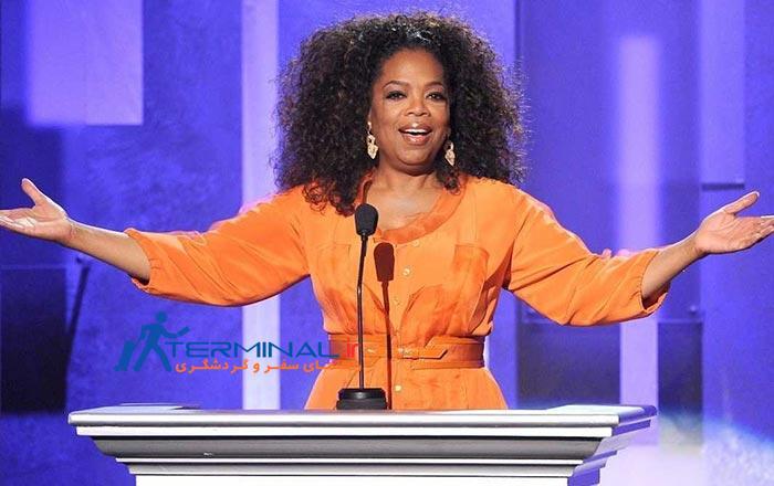 oprah winfrey worked at a corner grocery store