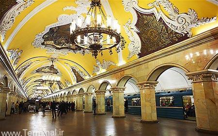 مسکو,دیدنی های مسکو,جاذبه های دیدنی مسکو